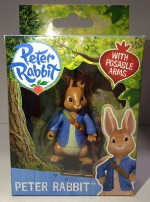 Peter Rabbit And Friends - 7cm Peter Rabbit Figure - Action Figures