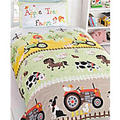 Apple Tree Farm Toddler Bedding Set