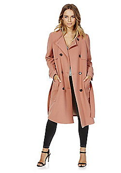 Vero Moda Trench Coat - Brick