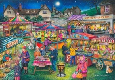 Village Fayre - Find the Difference 13 - 1000pc Puzzle