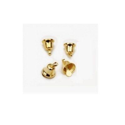 Craft Factory Gold Liberty Bells 14mm