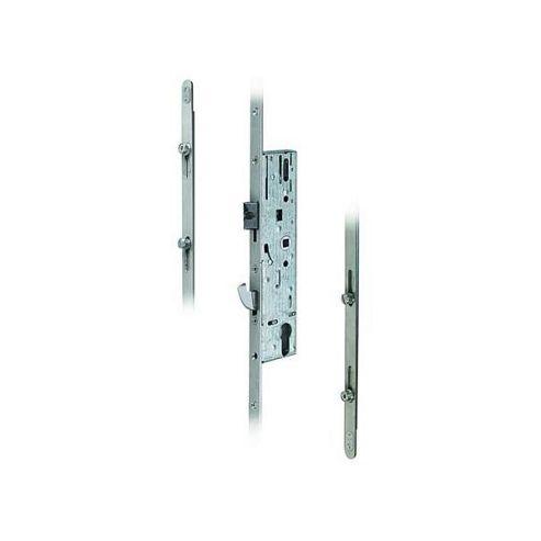 DOORMASTER Universal Lever Operated Latch & Hook Adjustable Rollers - UPVC Door - 92/35