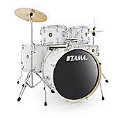 Tama Rhythm Mate 5 Piece Drumkit With Hi Hats And Crash/Ride Cymbal White