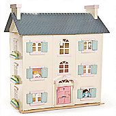Le Toy Van Traditional Wooden Dolls House - Cherry Tree Hall