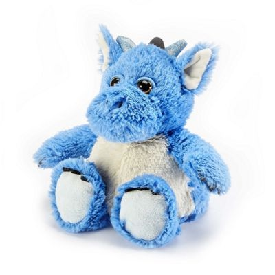 Intelex Warmies Heatable Dragon Microwavable Cozy Plush Soft Toy
