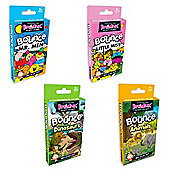 Brainbox Bounce Mega Value Pack 4 Supplied