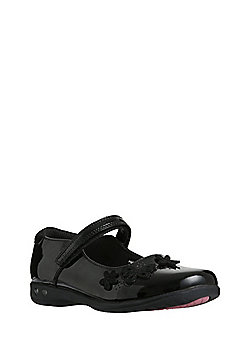 F&F All Day Comfort Butterfly Light-Up School Shoes - Black
