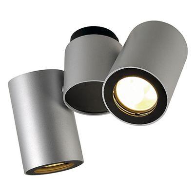 Enola B Spotlight Wall And Ceiling Light Silvergrey Black Max. 50W
