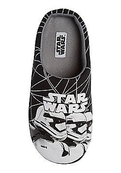 Star Wars Stormtrooper Slippers - Black