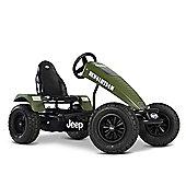Pedal Go Kart - Green Off Road Go Kart with 3 Speeds - BERG Jeep Revolution