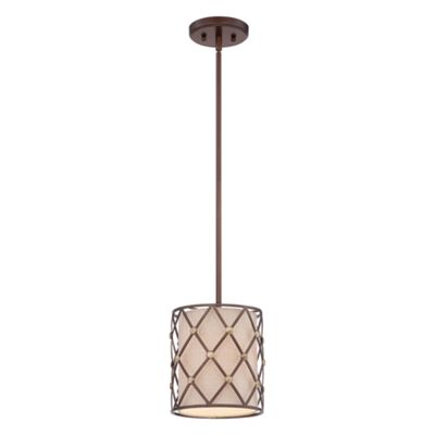 Copper Canyon 1lt Mini Pendant - 1 x 100W E27