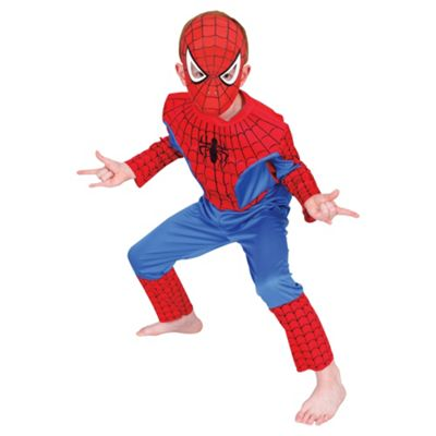 Rubies UK Premium EVA Muscle Chest Spiderman- L