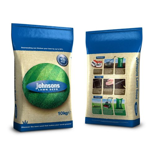Johnsons Quick Lawn Grass Seed 10 kg