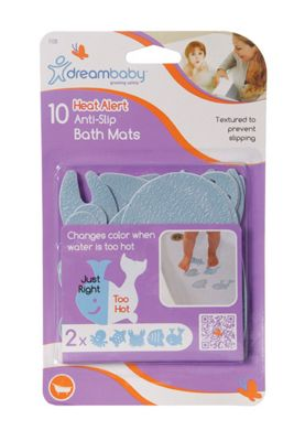 Dreambaby Heat Alert Anti-Slip Bath Mats