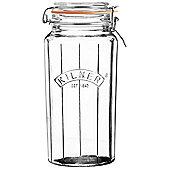 Kilner Faceted Clip Top Jar - 1.8L