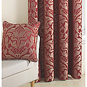 Curtina Crompton Red 43x43cm Cushion Cover