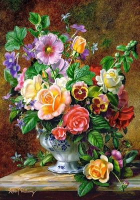 Flowers in a Vase - 500pc Puzzle