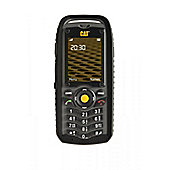 CAT B25 Mobile Phone 2 inch Display Screen Certified Black