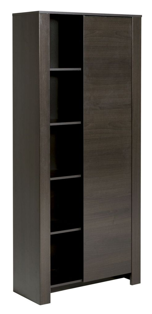 Parisot Amber 1 Door Bookcase