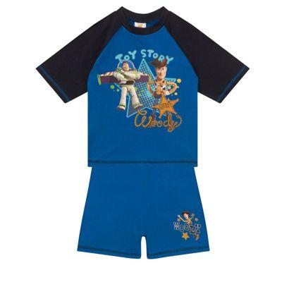 Disney Toy Story Baby Toddler Boys Short Pyjamas Blue 12-18 Months