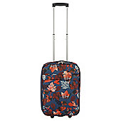 Tesco Sherwood Leaf Print 2 wheel Cabin Suitcase