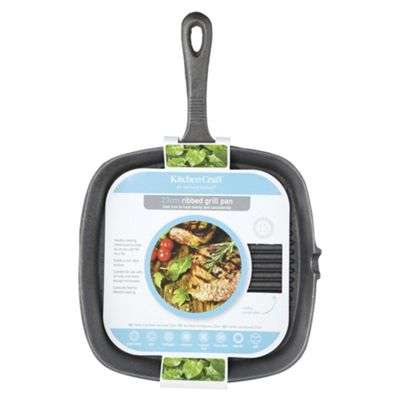 KitchenCraft Clearview Square Grill Pan