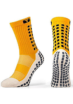 Trusox Mid-Calf Sock Thin - Yellow