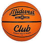 Midwest Club Basketball Tan Size 6