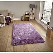 Montana Shaggy Rug - Purple