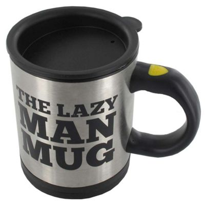 Lazy Man Self Stirring Mug