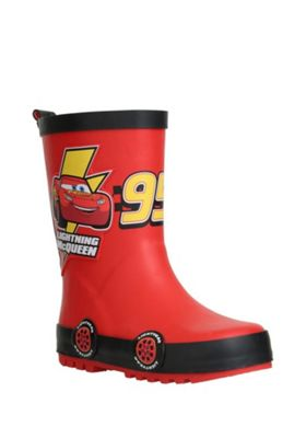 Disney Cars Lightning McQueen Wellies Red Child 5