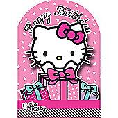 Hello Kitty Gifts Birthday Card