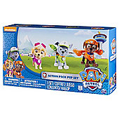 Paw Patrol Action Pack Pup Set Skye Zuma Rocky