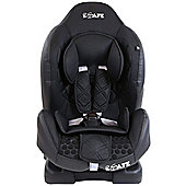 iSafe Group 1 ISOFIX Car Seat (Raven Black)