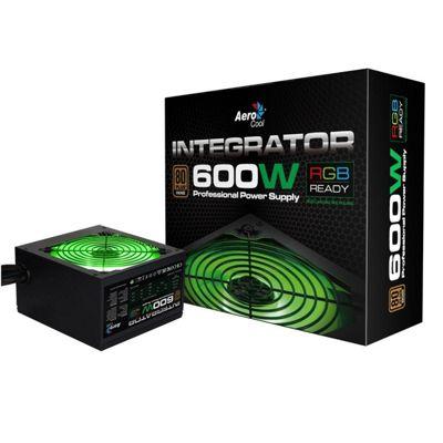 AeroCool Integrator RGB 600W 80+ Bronze PSU
