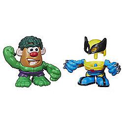 Mr. Potato Head Mashable Heroes 2 Pack - Hulk & Wolverine