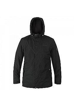 Regatta Hesper Fleece Lined Waterproof Jacket - Black