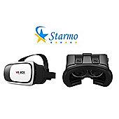 Starmo White 3D VR Glasses Box Virtual Reality Headset