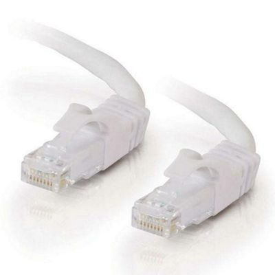 Cables to Go 5 m Cat6 550 MHz Snagless Patch Cable - White