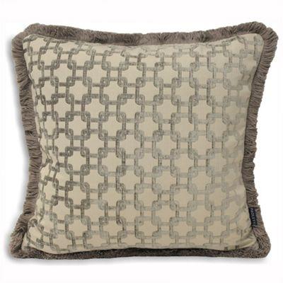 Riva Home Belmont Silver Cushion Cover - 55x55cm