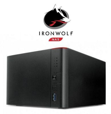 Buffalo LinkStation 441D/16TB-IW 4-Bay 16TB(4x4TB Seagate IronWolf) Network Attached Storage