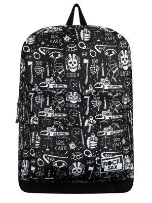 RockSax To Die For Black Backpack