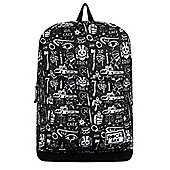 RockSax To Die For Black Backpack