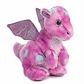 Aurora Candies Dragon Tutti 17cm Purple Plush Soft Toy