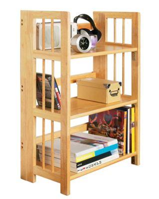 Premier Housewares Three Tier Stackable Folding Shelf Unit
