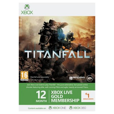 Xbox Live 12 + 1 month Gold Membership : Titanfall Edition