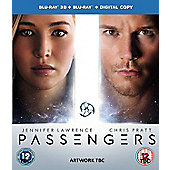 Passengers 3D Blu-ray