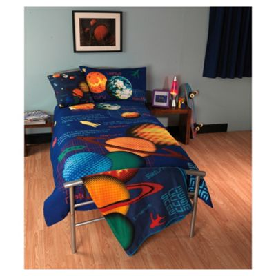 Science Museum Planets Single Bed Duvet Cover Set
