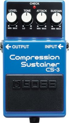 Boss CS-3 Compression Sustain Guitar Effects Pedal