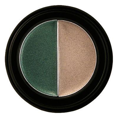 Manhattan Endless Stay Long Lasting & Creamy Duo Eyeshadow -02 Emerald Elegance